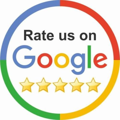 Google My Business Sticker · Rate us on Google · Aufkleber · Bei eBay